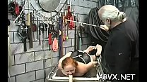 Topnotch lady is touching her wet and juice cave