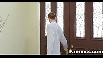 Cumming Home To New Step Sister | Famxxx.com Thumbnail