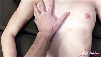 12704 Husband Oil Masturbate Narrow Pussy and Fucking after Work preview
