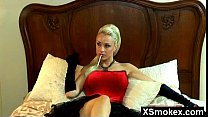 Alluring Sexy Smoking Beauty Seduced And Rammed