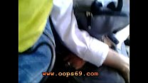 Image: woman touch my cock at bus