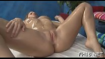 Sexy 18 year old girl gets drilled hard from behind by her massage therapist video