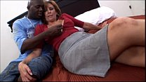 Amateur mature milf taking a big black cock in ... thumb
