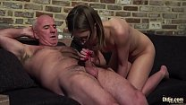 7911 Old and Young Porn - Grandpa Fucks Teen Pussy fingers her twat and cumshot preview