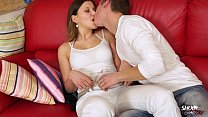 Great homemade sex with young couple and swallo...