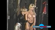 blonde with big tits loves being spanked