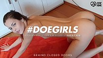 DOEGIRLS - Sexy Pussy Fingering After Yoga Routine With Hot Czech Teenager Cindy Shine