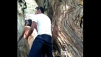 8097 Girlfriend fucking in public park preview