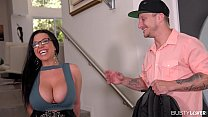 Busty lovers can't wait to hear Milf Sheridan L... thumb
