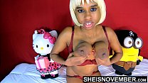 Black Nipples Big Areolas Natural Titties On Skinny Young Babe Msnovember Squeezing Her Saggy Breasts Hard , Large Round Brown Tits Bouncing On Busty Chest Close Up With Smooth Skin On Cute Spinner 4k Sheisnovember
