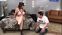 MILF Cruel Face Sitting and Ass Smelling to her Husband - 69VClub.Com