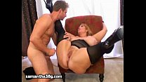 Screenshot Huge Tit MILF B BW Samantha 38G Fucks Stud Mod  Fucks Stud Model