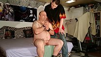 Beth Kinky - Fat slave d. our fresh warm spit from glass pt1 HD