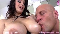 Screenshot Busty Domina Pegs And Uses Toy On Her Sub