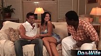 white wife takes white cock in front of black husband ~ brazzers video stream thumbnail