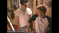 Hot gay Jake and Sterling take turns throating on pipe and eating