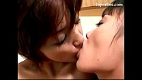 2 Asian Girls Rubbing Oil Kissing Sucking Nipples Rubbing Bodies On The Bed thumbnail