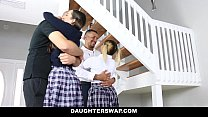 DaughterSwap - Naughty School Girls Fucked By Old Dads pornhub video