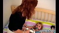 Tightly tied slut gets her twat thoroughly examined pornhub video