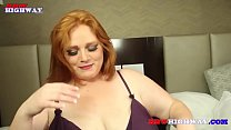 Julie Ginger returns to BBWHigway in a hot interracial 3some with 2 Big Cocks thumbnail