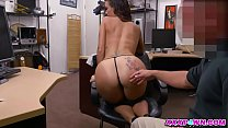Sexy Latina Victoria Banxxx At The Pawnshop