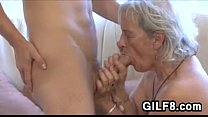 Old Cleaning Lady Gets Fucked By A Young Guy thumbnail