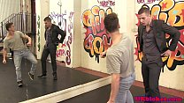 British twink dancers bj and facial