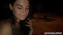 A stranger recognized me on the street and offered to do a blowjob. I agreed and swallowed his cum. TATTOOSLUTWIFE