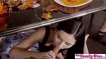 17842 Cousin Blowing Me Under Thanksgiving Table - My Family Pies S5:E3 preview