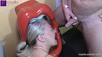 Dominant male horde and a shemale used me as a toilet on the men's loo! Full Movie