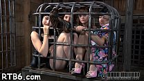 Intensive caning with painful castigation for tattooed slave