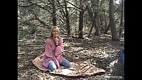 Blonde Outdoor Creampie