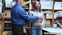 Ebony Teen Thief Sarah Banks Caught Stealing St... thumb