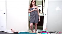 Spying on Stepmom in The Shower - Ally Cooper -