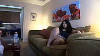 Latina 18 Year Old Daughter Helps Me Relax COMPLETE SERIES Parts 1-4