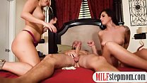 Stepmom teaches couple to suck and fuck - Download mp4 XXX porn videos