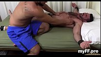 Perverted foot fetish for homosexual guys