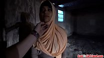 10401 Arabian prostitute gets secretly tapes while riding fat white cock preview