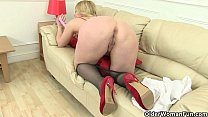 British milfs Lucy Gresty and Lily May taking care of things
