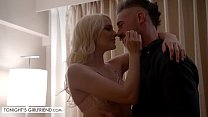 Tonights Girlfriend Kenna James meets up with fan at his hotel