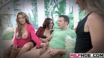 The More Horny MILFS For His Dick The Better