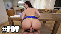 POV - Newbie PAWG Vivian Taylor And Her Huge Ass Made Preston Parker's Big Cock Explode All Over Her Pretty Face.