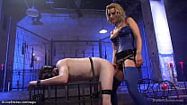 Man Sub Gets Whipping And Pegging