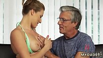 Old hairy compilation and japan daddy bear Sex with her boyboss´s