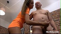 Babe jerking off her step dad Thumbnail