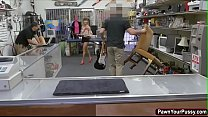 Asian Hottie Gets Banged In Pawnshop