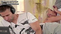 Pink Blonde Anal Fuck Hard while Threesome - www.WetHut.com