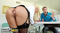 BANGBROS - Ryan McLane Stretches Luna Star's Big Ass With His Cock & Toy