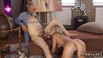 patron's step daughter loves daddy xxx play with his grey beard and