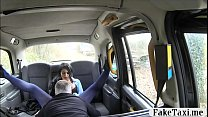Busty tattooed woman smashed in the cab to off her fare thumbnail